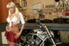 Sindy Dollar with Harley